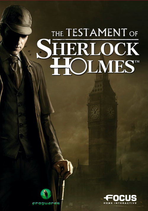 The Testament of Sherlock Holmes - Cover