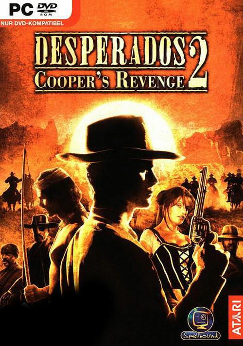 Desperados 2: Cooper's Revenge - Cover