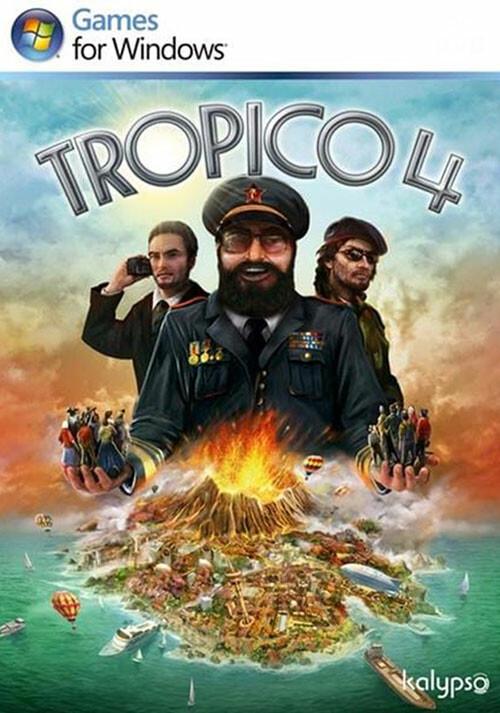 Tropico 4: Steam Special Edition - Cover