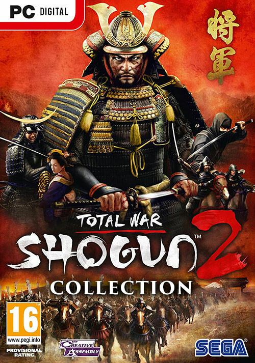 Total War: Shogun 2 Collection - Cover
