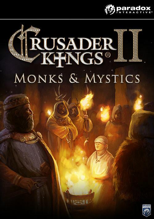 Crusader Kings II: Monks & Mystics - Cover