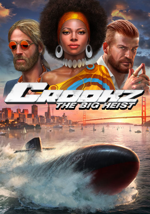 Crookz - The Big Heist - Cover