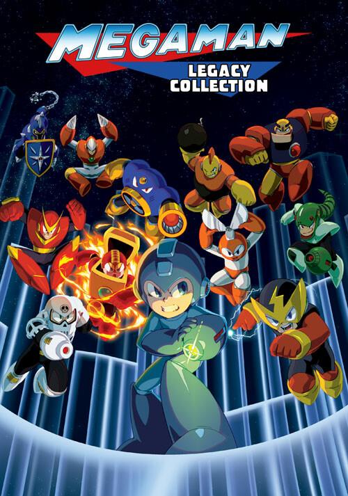 Mega Man Legacy Collection - Cover