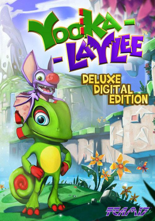 Yooka-Laylee - Digital Deluxe - Cover