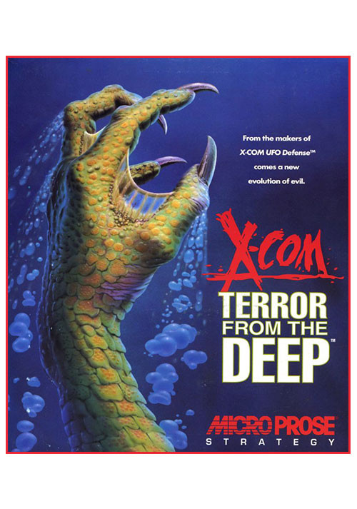 X-COM: Terror From the Deep - Cover