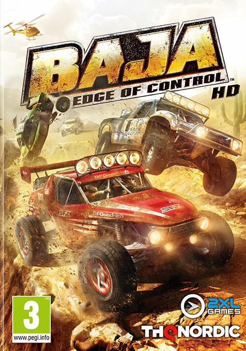 BAJA: Edge of Control HD - Cover