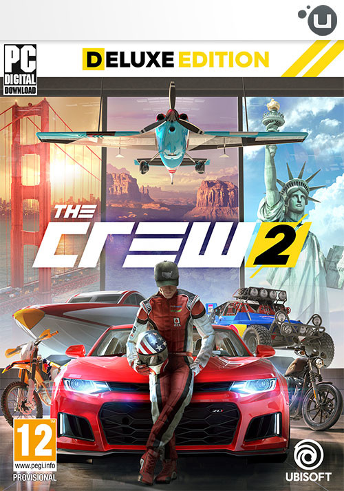 The Crew 2 - Deluxe Edition - Cover