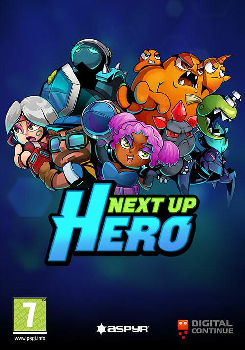Next Up Hero - Cover