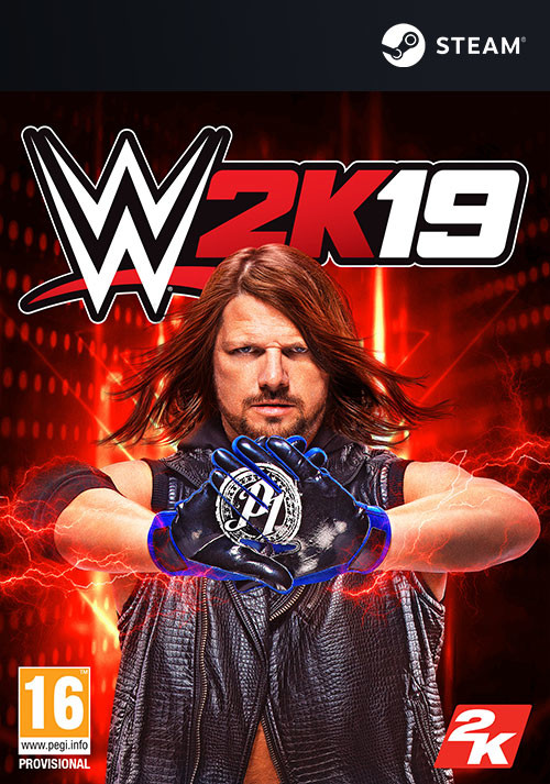 WWE 2K19 - Cover
