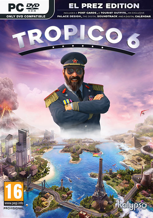 Tropico 6 El Prez Edition - Cover