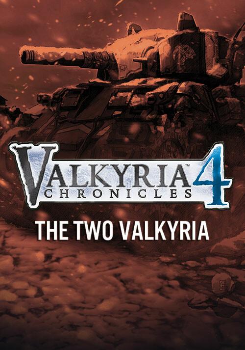 Valkyria Chronicles 4 - The Two Valkyria - Cover